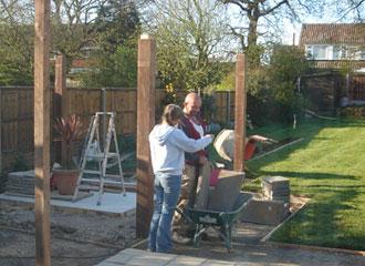 gill oliver discusses landscaping - Oliver Garden Survey